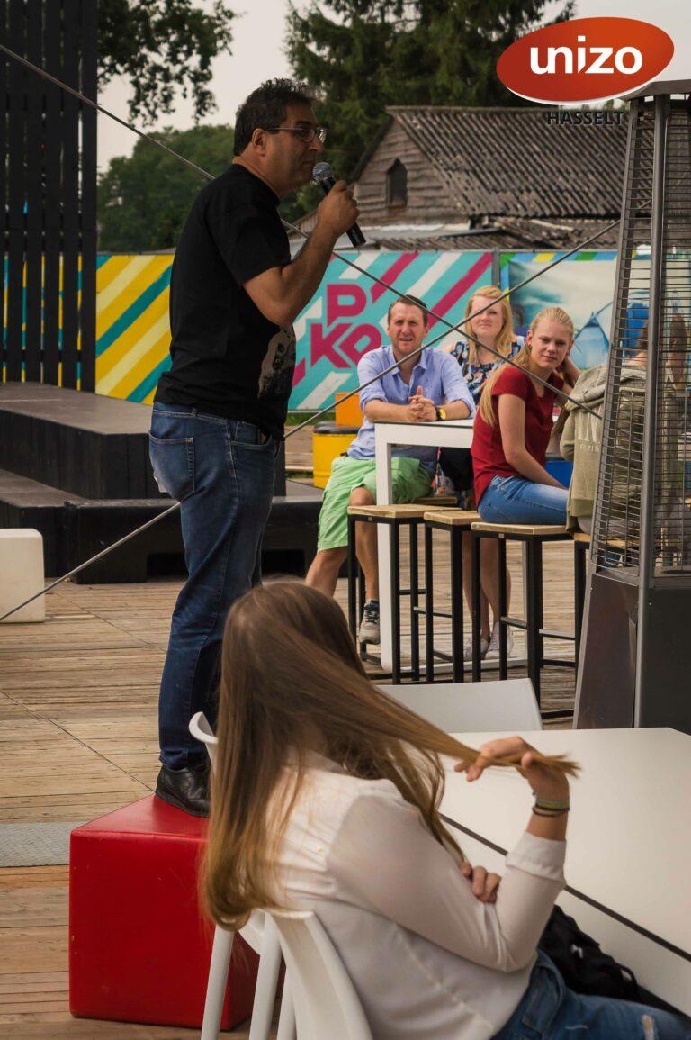 Unizo Hasselt - Pukkelpop achter de schermen